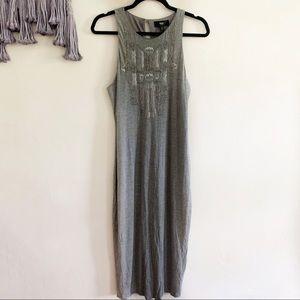 3/$20 Mossimo • beaded sequined midi tank dress